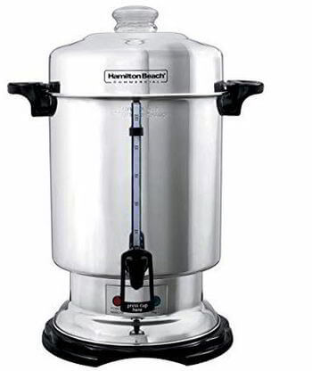 Hamilton Beach D50065 Commercial 60-Cup Stainless-Steel Coffee Urn