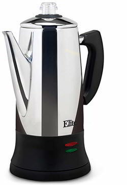 Maxi-Matic EC-120 12 Cup Percolator, Stainless Steel