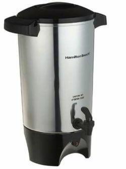 Hamilton Beach 15 to 45-Cup Coffee Urn, Silver, Medium
