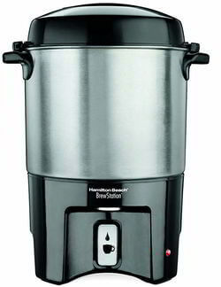Hamilton Beach 40540 Brew Station 10 to 40-Cup Coffee Urn, Silver