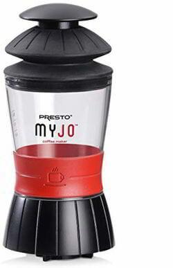 3 Presto 02835 MyJo Single Cup Coffee Maker, Black
