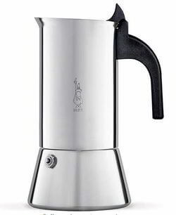 Bialetti Venus Induction 4 Cup Espresso Coffee Maker, Stainless
