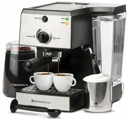 6 EspressoWorks 7 Pc Best All-In-One Espresso Machine