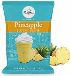 Angel Specialty Products, Blended Smoothie, Frappe Powder Mix, Pineapple [3 LB] [34 Servings]