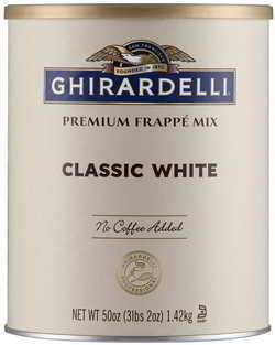 Ghirardelli Beverage Mix, Classic White 50 Ounce.