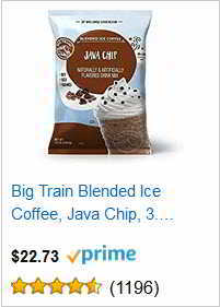 Big Train Blended Ice Coffee, Java Chip,