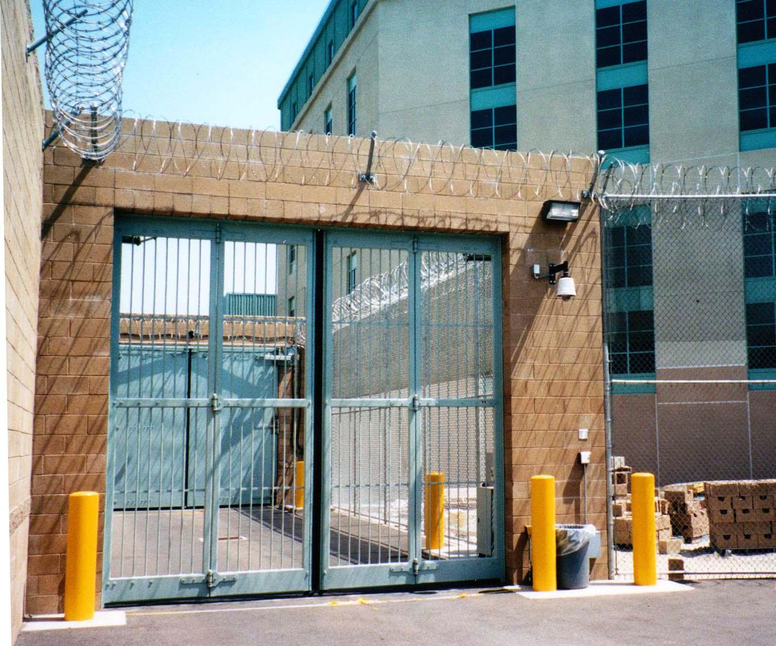 Correctional  Sallyport Doors  Electric Power DoorElectric Power Door