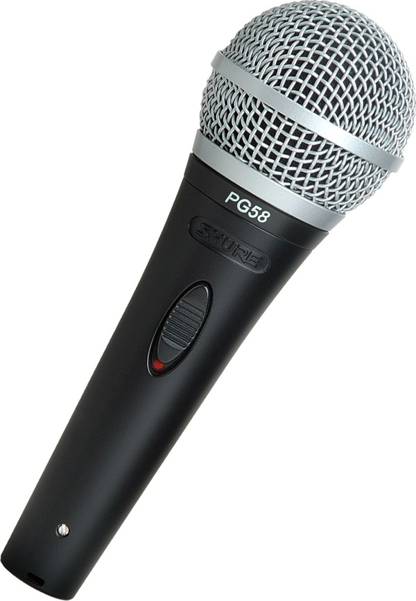 Shure - Pg58-xlr Dynamic Vocal Microphone Electric Room