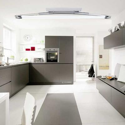Endon EL 10085 Twin Fluorescent Polished Chrome Fitting