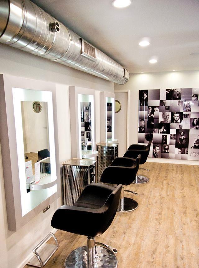 Hair salon lighting  Electricsandlightingcouk