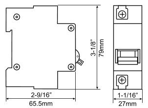 Electric Scooter and Bicycle Circuit Breakers
