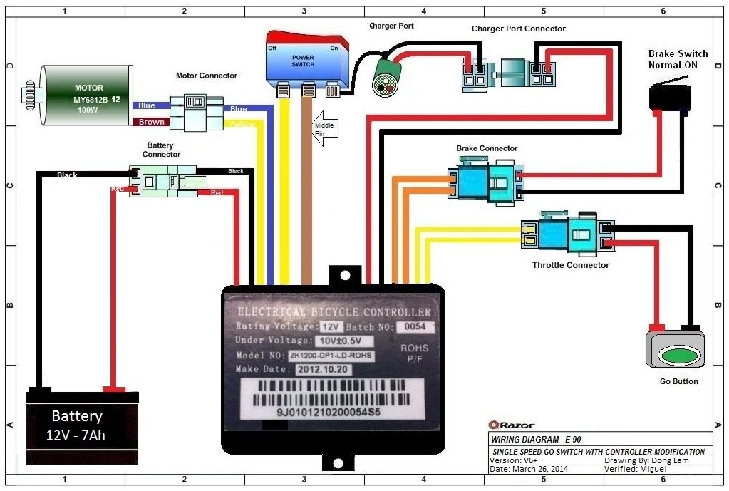wiring diagram for razor mx350 diagram free printable wiring diagrams