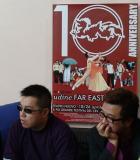 Pang Ho Cheung and Peter Kam at Udine 10