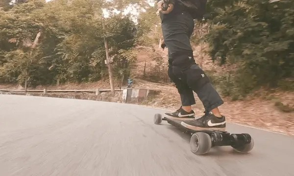 Riding with 120mm Cloudwheels with Wowgo AT2