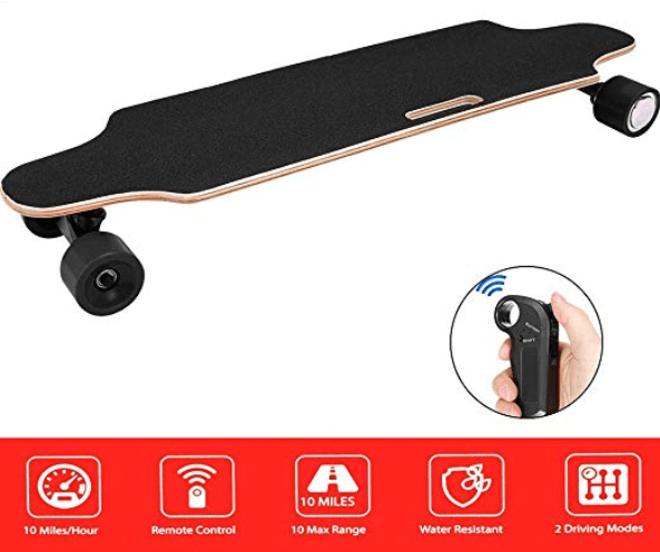 Aceshin Components for Electric Skateboard with Wireless Remote Control