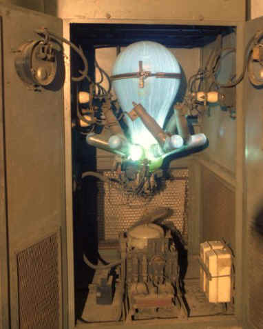 Mercury Arc rectifier in action