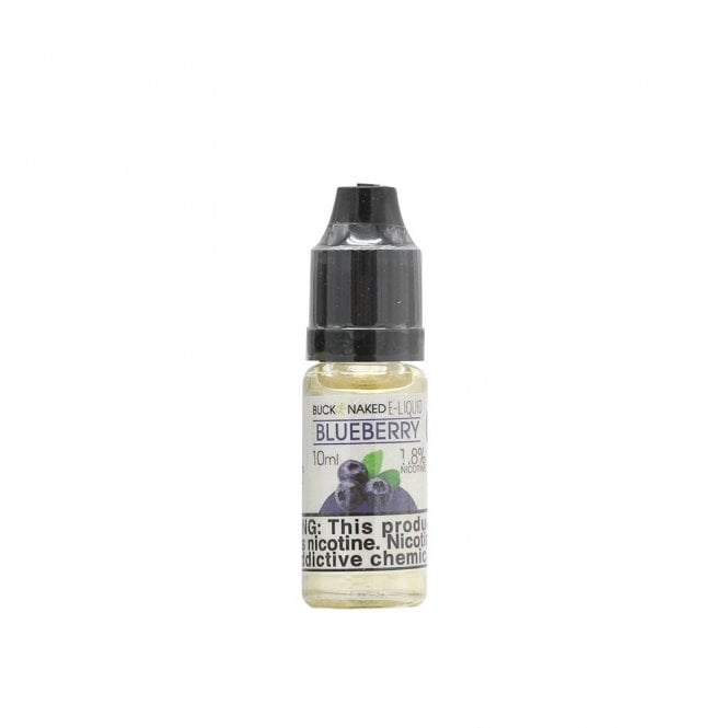 Blueberry Flavor Vape Juice by Buck Naked  The Electric