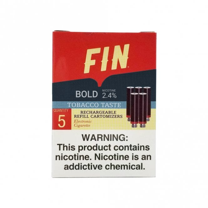 Fin Bold Tobacco Cartomizer Pack  The Electric