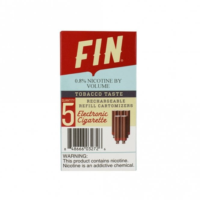 FIN Mild Tobacco Cartomizer Pack  Electric Tobacconist USA
