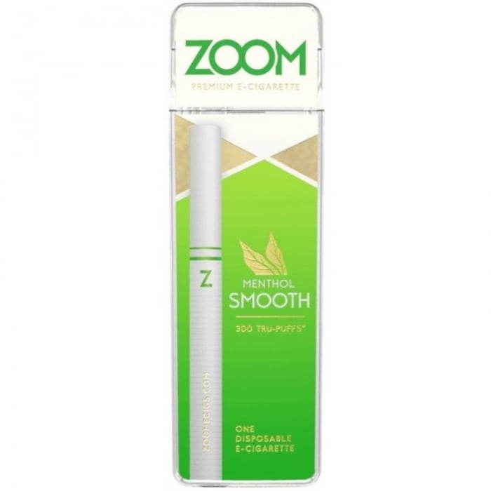 Zoom Menthol Smooth ECigarette  Electric Tobacconist