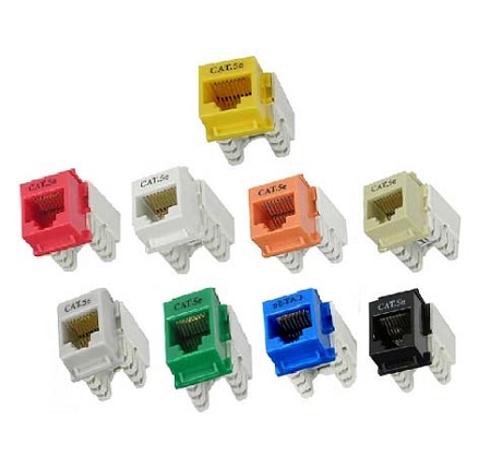 cat5e wire diagram kicker dual voice coil wiring cat.5e rj45 110 type keystone jacks | networking