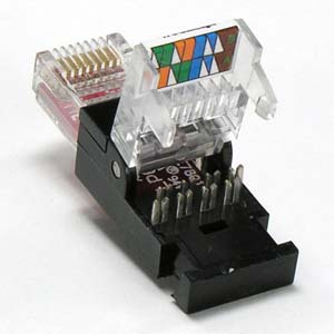 Wiring Ethernet Socket Diagram Rj45 Cat 6 Utp Tool Less Plug Snap In Connector Networking