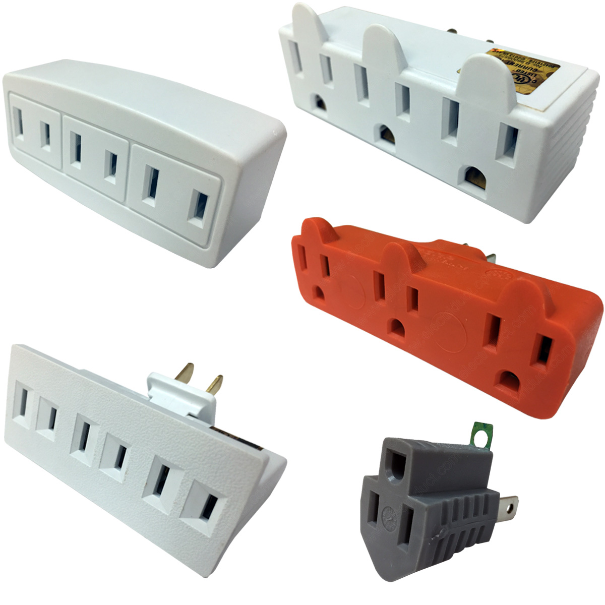 hight resolution of multi outlet wall adapters electriduct