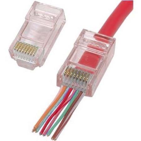 ez rj45 and rj1112 plug connectors