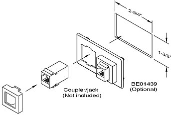 Electriduct Universal Power and Data Center Accessories