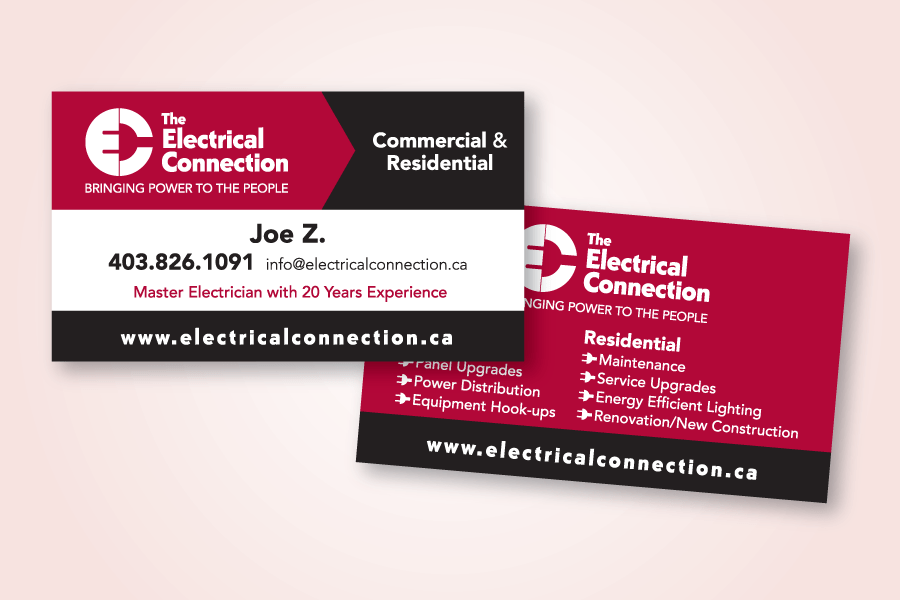 Recently Completed The Electrical Connection Logo And