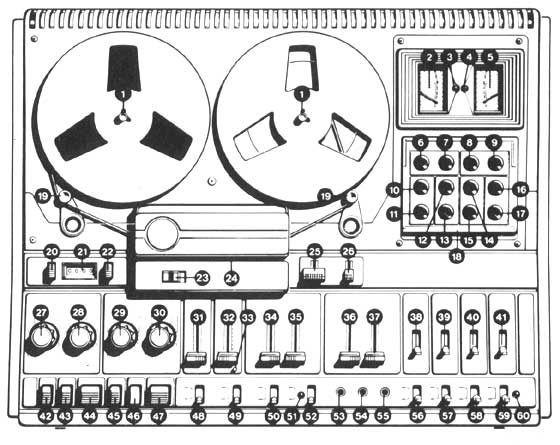 Bandrecorder snaren : Aristona EW5515 snarenset