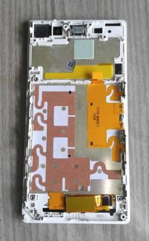 LCD Avec Cadre Blanc XPERIA Z1 L39H Neuf