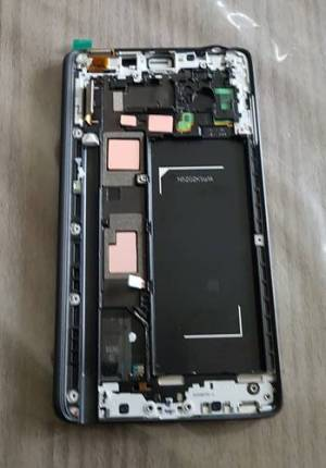LCD Note EDGE N915F Couleur Noir Avec Cadre