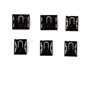 Ensemble 6 Pates de Maintien Des Cartes LCD Tele Thomson 55UB6406
