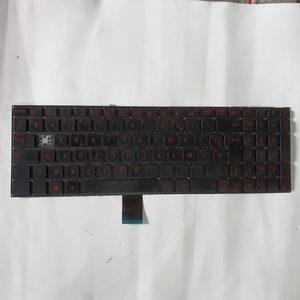 Clavier Touches Rouge Et Noir Asus R510J Pour Pièces