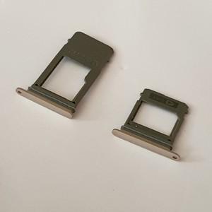 Tiroir Carte Sim+Tiroir Carte Micro SD Couleur Or Téléphone Samsung A5 1017 A520F