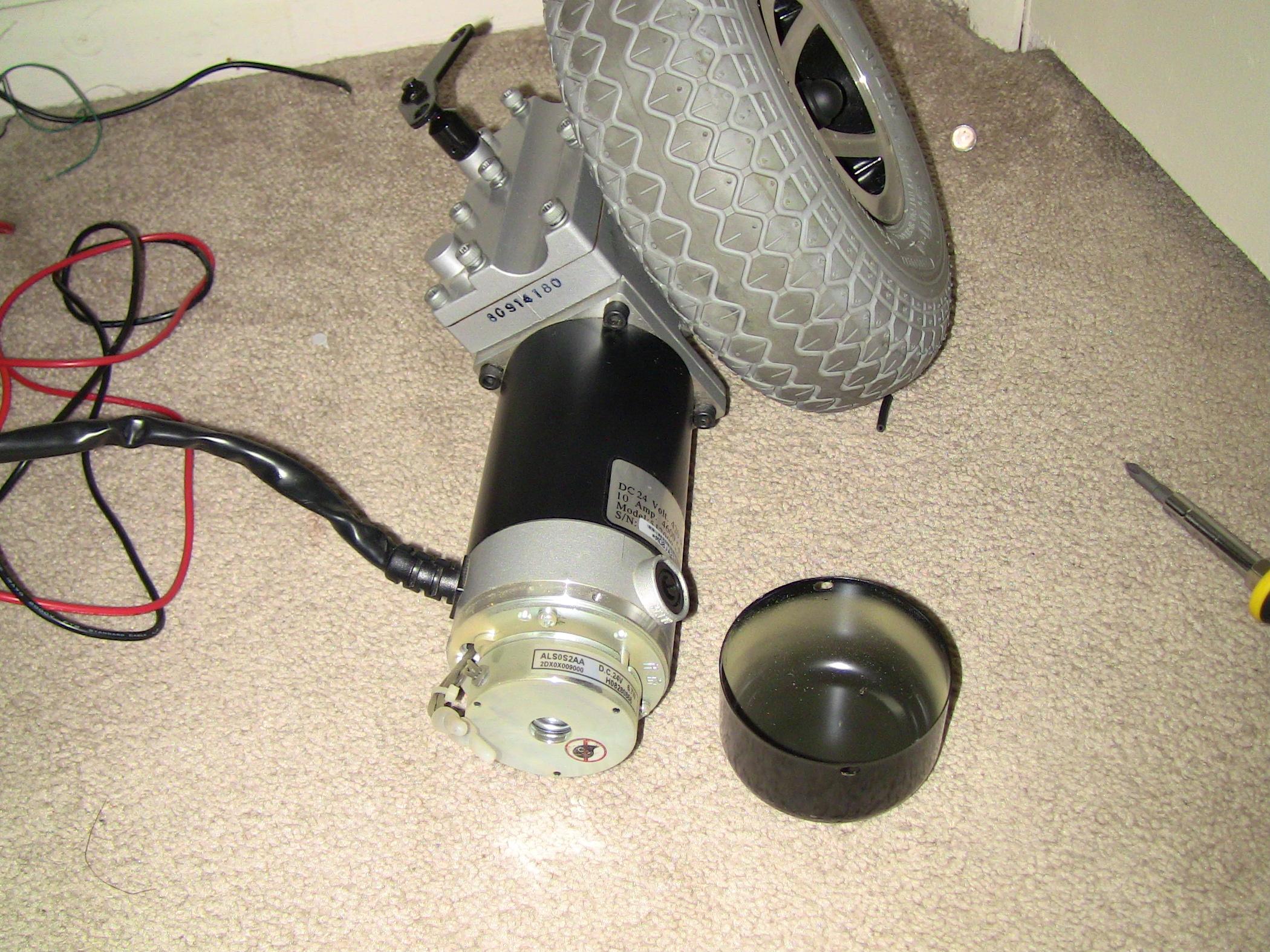 24VDC Wheelchair Motor Help Electronics Forum Circuits