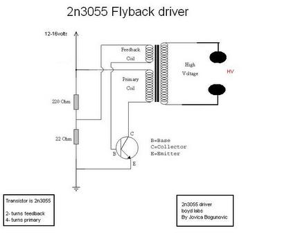 Bug Zapper Circuit Schematic Wiring Diagrams Mashups Co