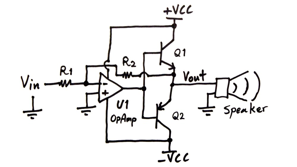 medium resolution of power amplifier circuit