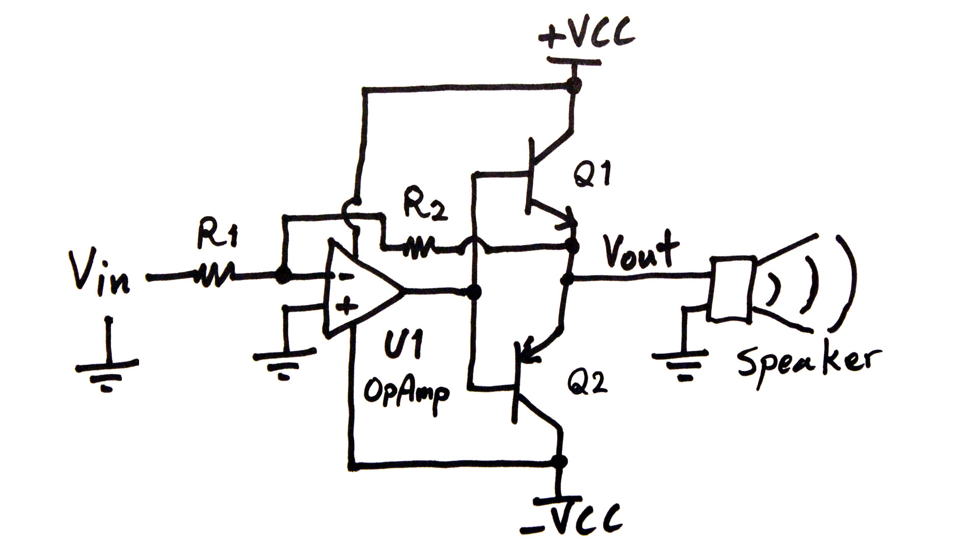 hight resolution of power amplifier circuit