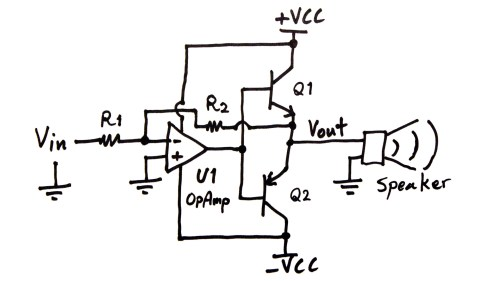 small resolution of power amplifier circuit