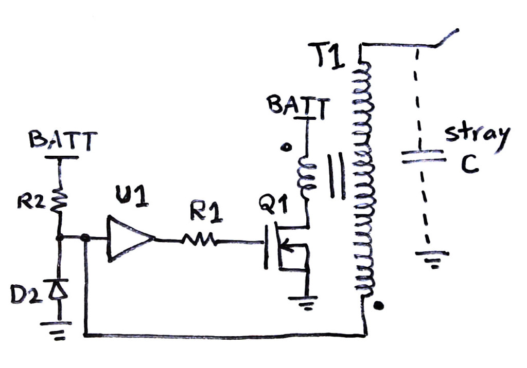 Flyback Transformer Circuit Diagram Power Transformer