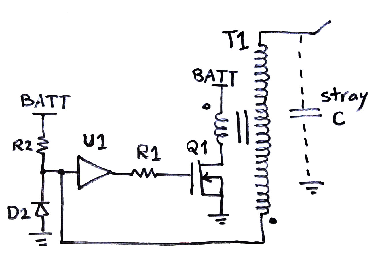 hight resolution of slayer exciter with mosfet and gate driver