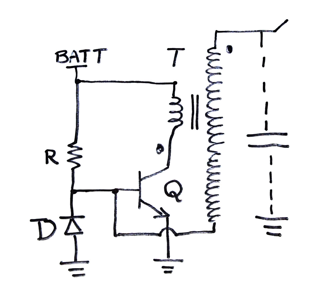 9v tesla coil circuit diagram