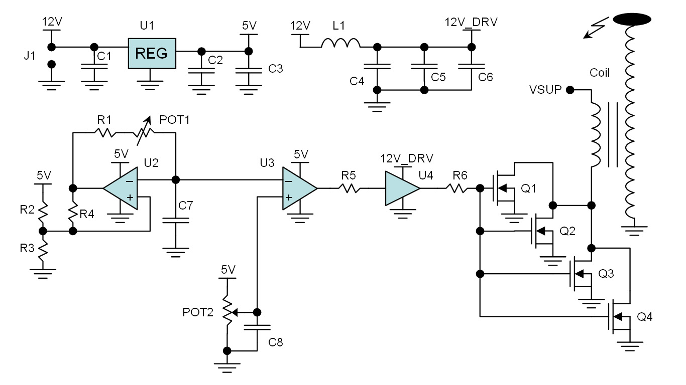 hight resolution of solid state tesla coil driver