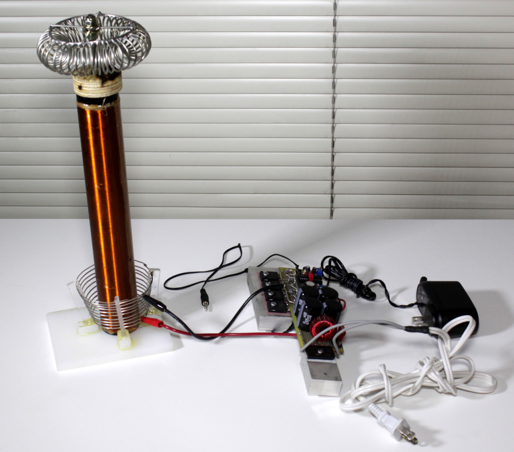 hight resolution of tesla coil and solid state driver