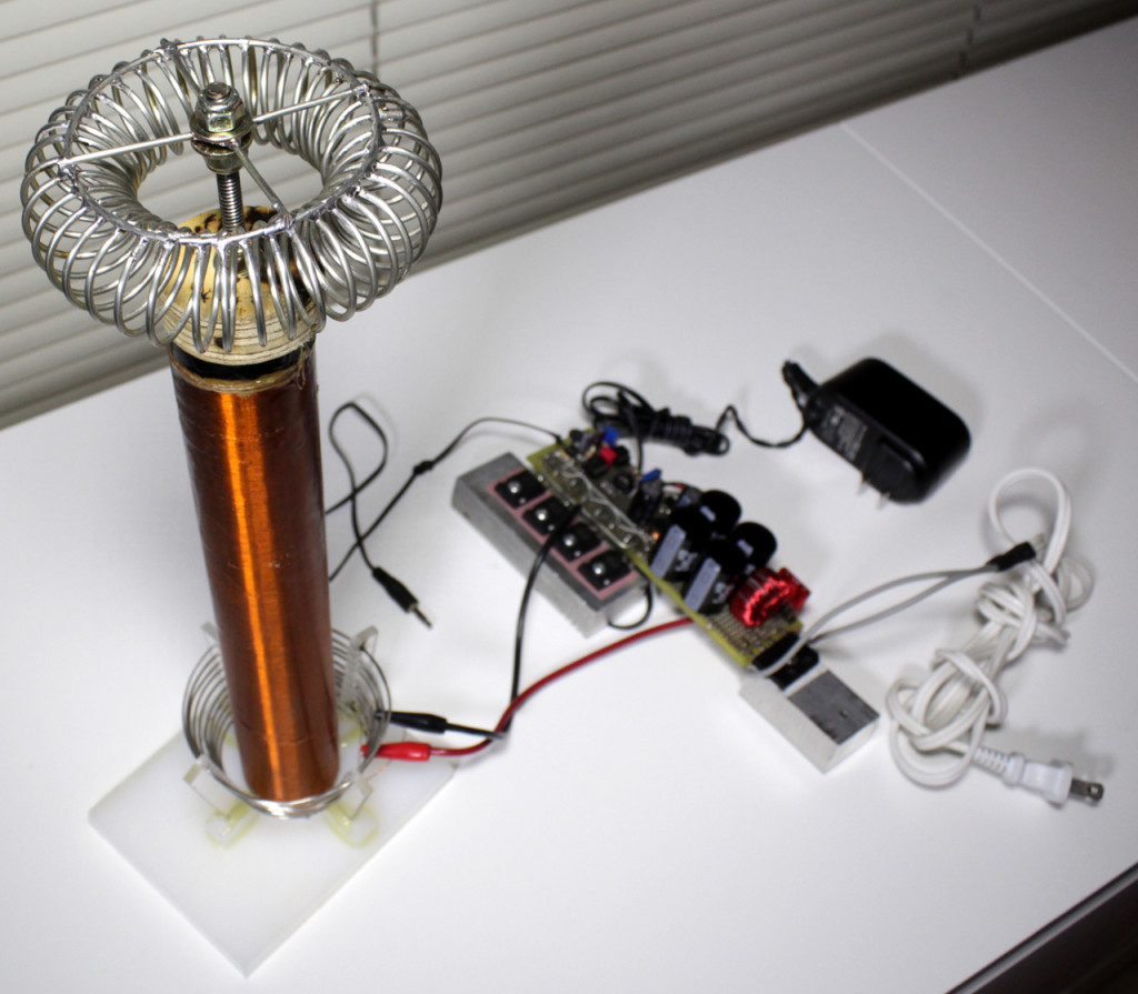 Solid State Tesla Coil Circuit