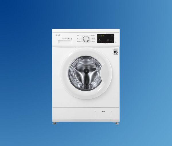 lavadora lg blanca