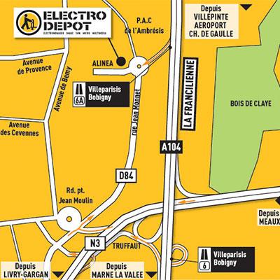 magasin electro menager villeparisis