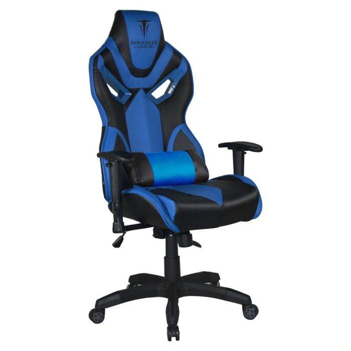 Fauteuil De Bureau Gaming Berserker Bergelmir Bleu Electro Depot